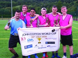 John Cotton World Cup Winners