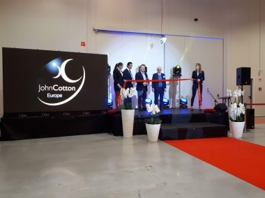 John Cotton Europe open new factory in Poland