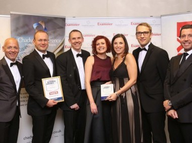 EXAMINER BUSINESS AWARDS WINNER